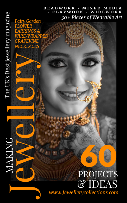 Jewellery Magazine Cover Template Kindle/Book Covers