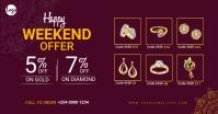 Jewellery sale facebook ad template