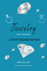JEWELRY BUSINESS Poster template