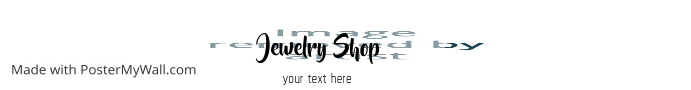 jewelry shop template banner
