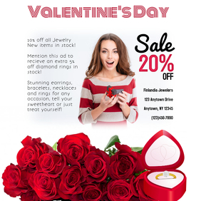 Jewelry Valentine's Day Sale Instagram