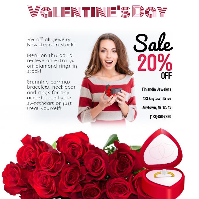 Jewelry Valentine's Day Sale Instagram