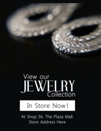 Jewelry Video Flyer template