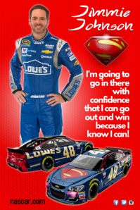 Jimmie Johnson Poster