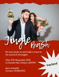 Jingle Bash flyer template