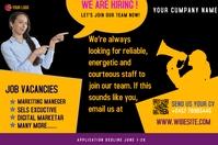 job ad Poster template