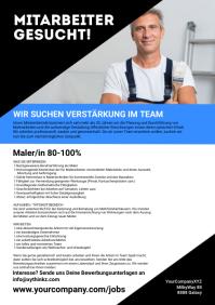 Job Announcement Din Hiring Advertisement