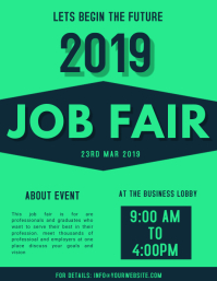 job fair ad template