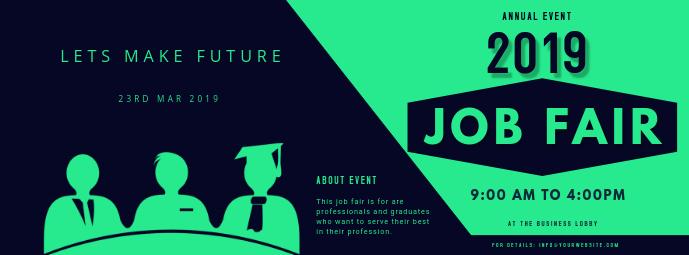 job fair ad template FACEBOOK COVER Facebook-coverfoto
