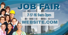 Job Fair Facebook Header Template