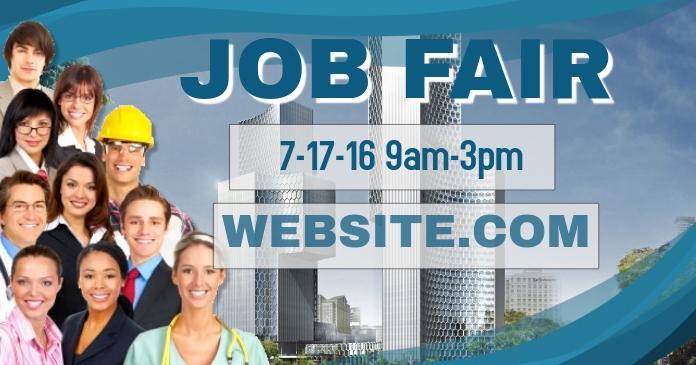 Job Fair Facebook Header Template