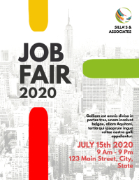 job fair flyer business template