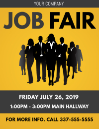 JOB FAIR FLYER TEMPLATE 2