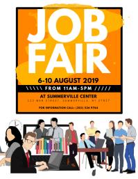 Customizable Design Templates For Job Fair Flyer PosterMyWall - Job fair flyer template