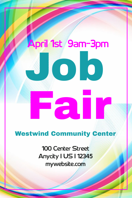 Job Fair flyer Template | PosterMyWall