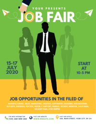 Job Fair Flyer Template