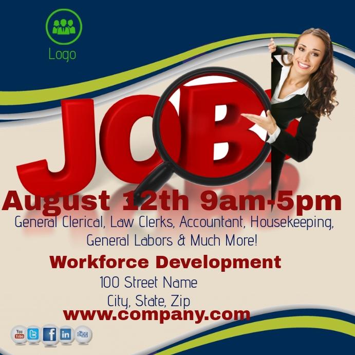 Job Fair Template