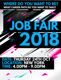 150 customizable design templates for job fair flyer postermywall