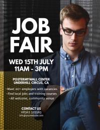 Customizable Design Templates for Job Fair Flyer | PosterMyWall
