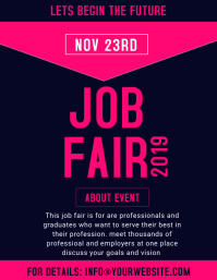 job fair template