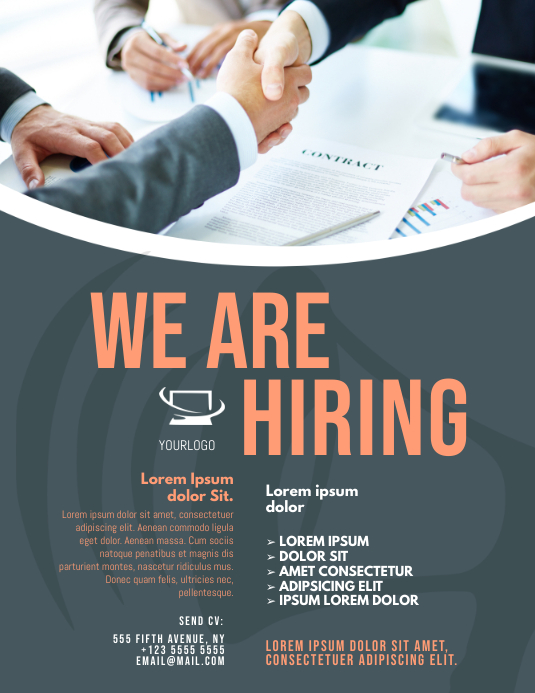 Job Hiring Flyer