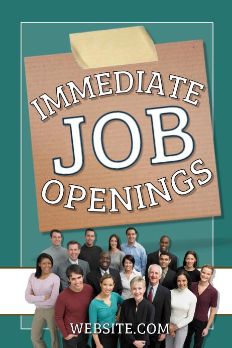 job openings template