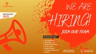 job vacancies Blog Header template