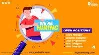 Job Vacancy Ad Twitter Post template
