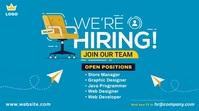 Job Vacancy Ad Publicación de Twitter template