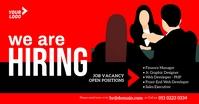 Job Vacancy Ad Изображение, которым поделились на Facebook template
