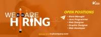 Job Vacancy Ad Facebook Cover Photo template