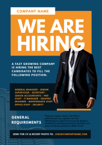 Job Vacancy Flyer Template A4