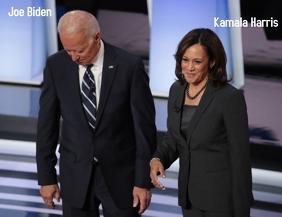 Joe Biden and Kamala Harris Volante (Carta US) template