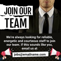 Join Our Team Instagram Plasing template