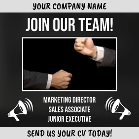 Join Our Team Hiring Video Template
