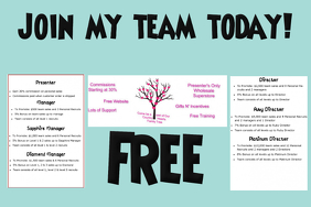customizable design templates for team building postermywall
