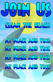 Join us, clean the beach