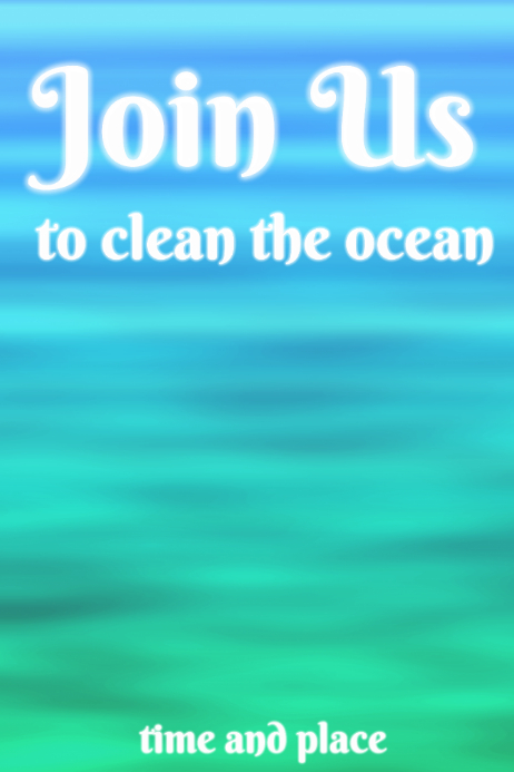 Join us - clean the ocean