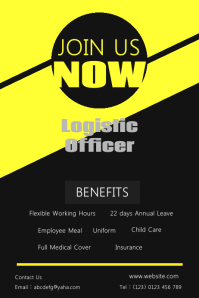 Join Us Hiring Poster