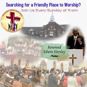 Join Us Invitation Sunday church
