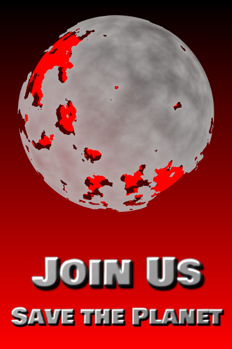 join us - save the planet