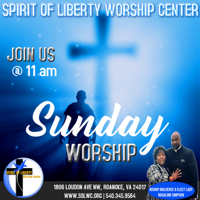 Join Us Sunday Service