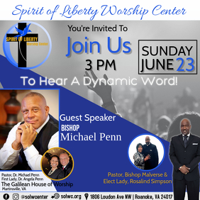 Join Us with Guest speaker