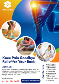 Joint Pain Relief A4 template