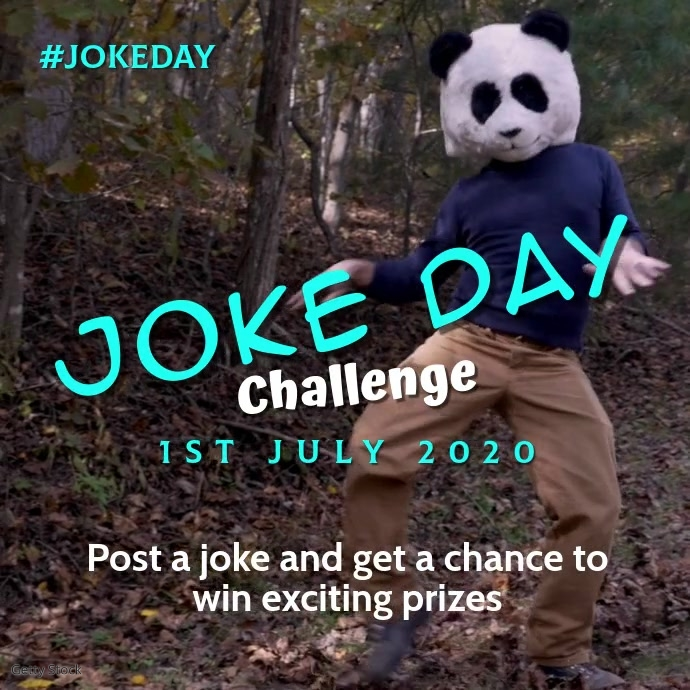 Joke Day Quadrado (1:1) template