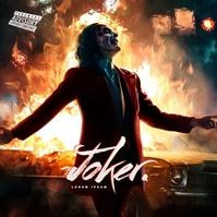 Joker Album Cover Art Albumcover template