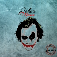 Joker Mixtape/Album Cover Art template