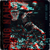 Jordan 23 Album cover art design template