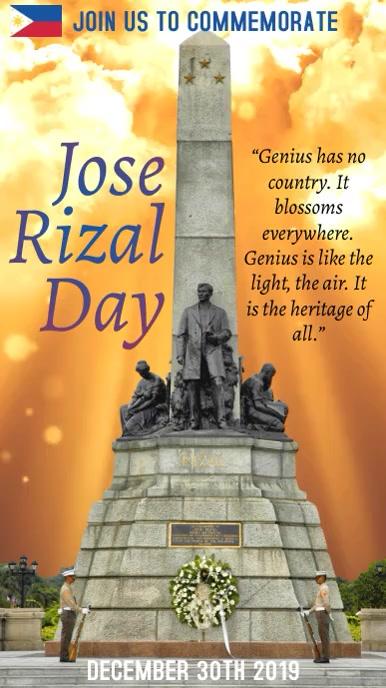 Jose Rizal Video Template