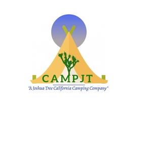 JOSHUA TREE Camping LOGO template